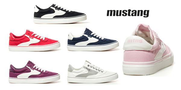 Zapatillas deportivas Mustang Taylor en varios colores para mujer baratas en eBay