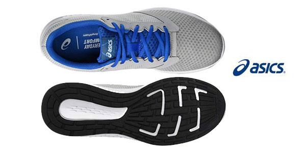 Zapatillas de running Asics Patriot 10 gris para hombre chollo en Amazon