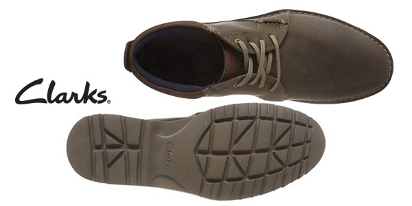 Zapatos de cordones Clarks Vargo Mid para hombre chollo en Amazon