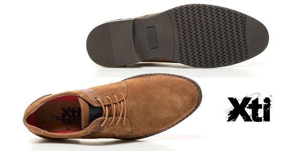 Zapatos de piel Xti Alberto para hombre color camel chollo en eBay