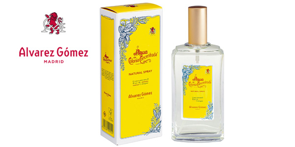 Eau de toilette Alvarez Gomez en spray rellenable de 150 ml barato en Amazon