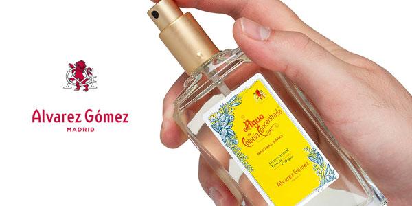 Eau de toilette Alvarez Gomez en spray rellenable de 150 ml chollo en Amazon