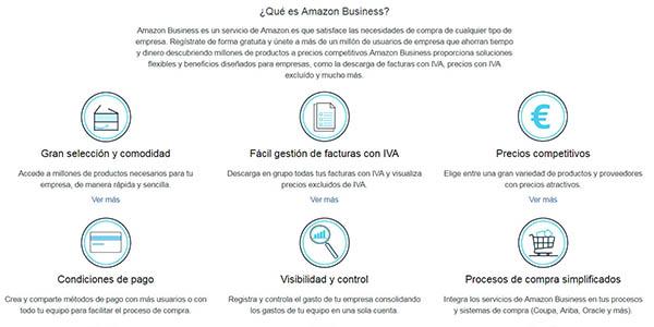 Amazon Business cuenta profesional para compras online de empresas