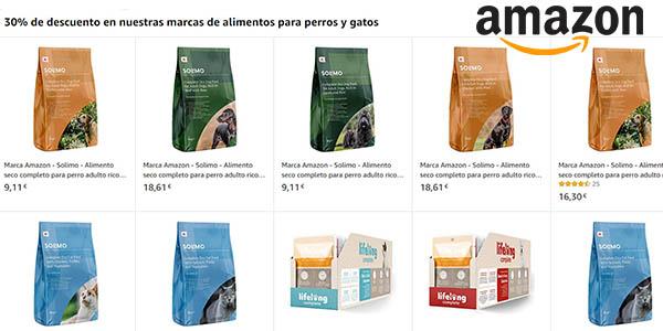 Amazon Solimo sacos de pienso para animales baratos