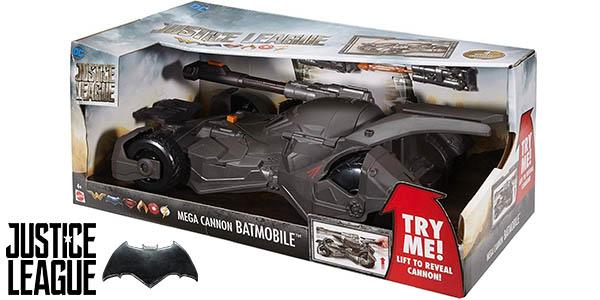 Batmóvil con lanzamisiles de Justice League Mattel