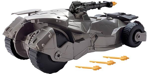Batmóvil con lanzamisiles de Justice League Mattel barato