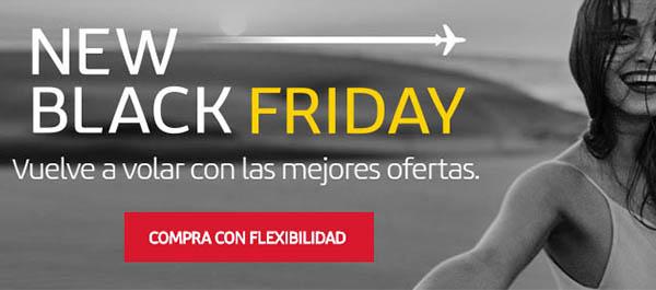 Black Friday 2020 Iberia ofertas en vuelos