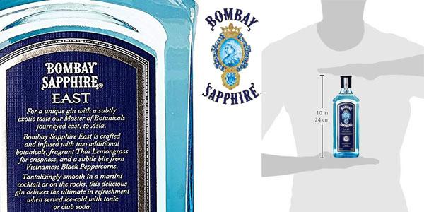 Ginebra Bombay Sapphire London Dry Gin de 70 cl chollo en Amazon