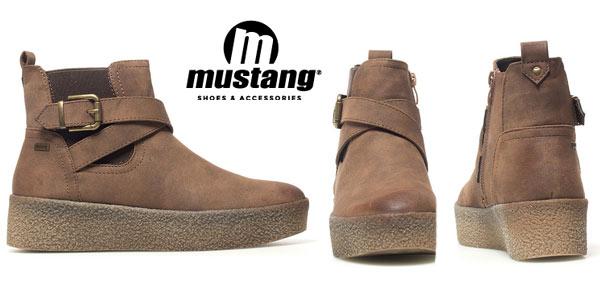 Botines Mustang Frozen marrón baratos en eBay