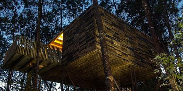 cabañitas del bosque primera categoría Galicia