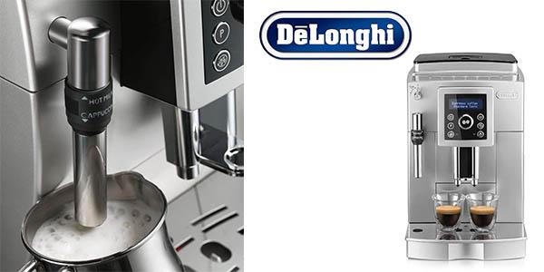 cafetera De'Longhi Ecam superautomática barata