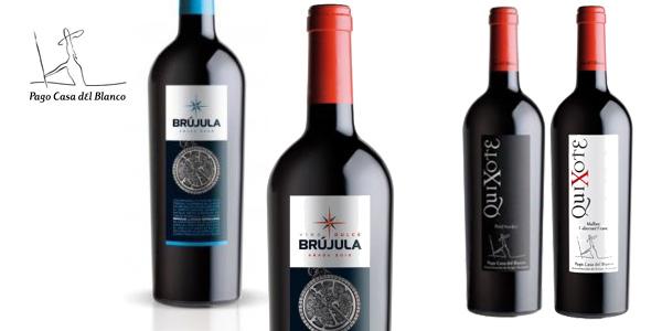 Caja 6 botellas Vino Tinto Bodegas Pago Casa del Blanco Edición Limitada Black Friday chollo en eBay