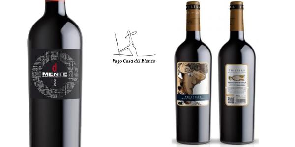 Caja 6 botellas Vino Tinto Bodegas Pago Casa del Blanco Edición Limitada Black Friday chollazo en eBay