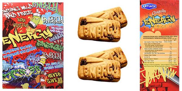 cajas de cereales Chiquilín Energy a Cucharadas galletas con chocolate oferta