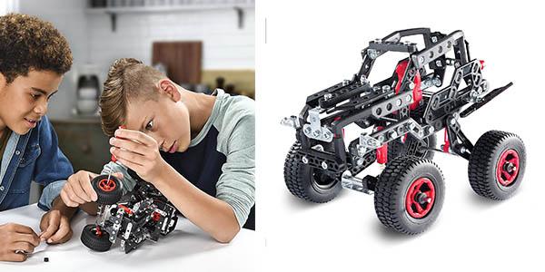 caja Meccano 25 Model Building Set Off Road Rally Jeep chollo