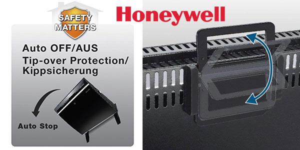 Calefactor Honeywell HCE890 de panel de vidrio de 1800 W y termostato ajustable chollazo en Amazon