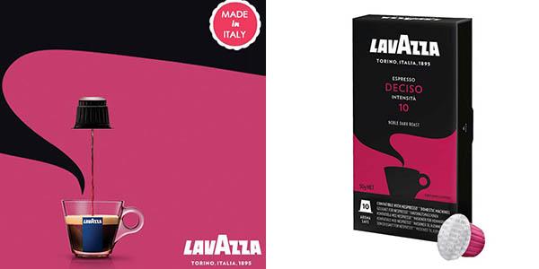 cápsulas de café Lavazza Deciso de intensidad alta pack ahorro