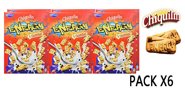 Chiquilín Energy a cucharadas cereales pack ahorro