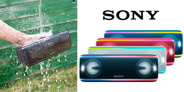Chollo Altavoz portátil Sony SRSXB41 Bluetooth