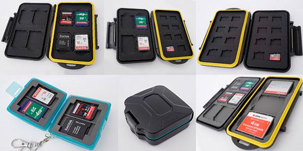Chollo Estuche protector Ares Foto para tarjetas de memoria SD y Micro SD