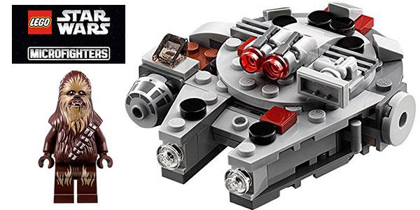 Chollo Microfighter Halcón Milenario de Lego Star Wars