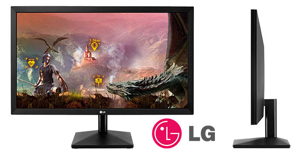Chollo Monitor gaming LG 24MK400H-B Full HD de 23,8""