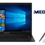 "Chollo Ordenador portátil ultrafino Medion Akoya E4251 de 14"" Full HD con 4 GB RAM y 64 GB ROM"