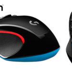 Chollo Ratón óptico Logitech G300s con 9 botones