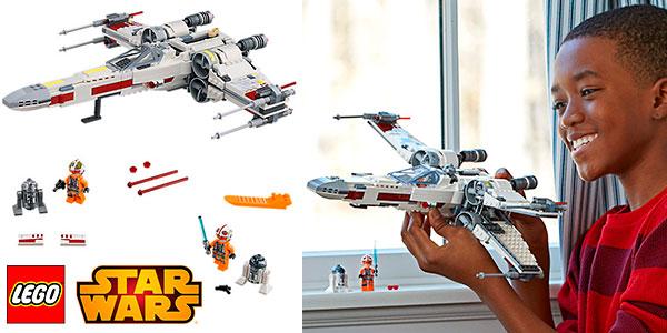 Chollo Set Caza Estelar Ala-X de LEGO Star Wars con 4 minifiguras
