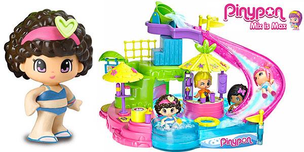 Chollo Set Aquapark de Pinypon con una minifigura