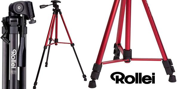 Chollo Trípode Rollei Compact Traveler Star S2 (antes DIGI 9300) rojo