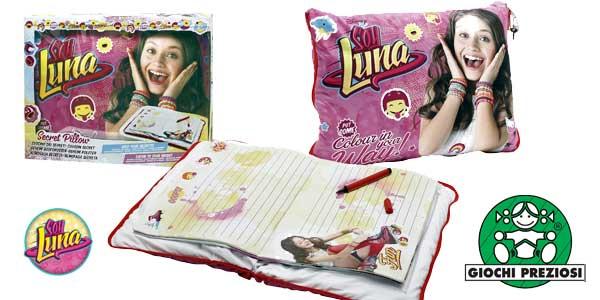 Cojín Secreto Soy Luna con Conector de mp3 (Giochi Preziosi YLU25000) barato en Amazon