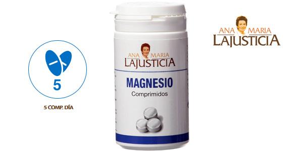 Envase 147 tabletas Magnesio Ana Maria Lajusticia barato en Amazon