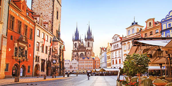 escapada a Praga barata diciembre de 2018