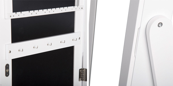 Espejo joyero organizador de cuerpo entero (155 x 35 x 35 cm) chollo en eBay
