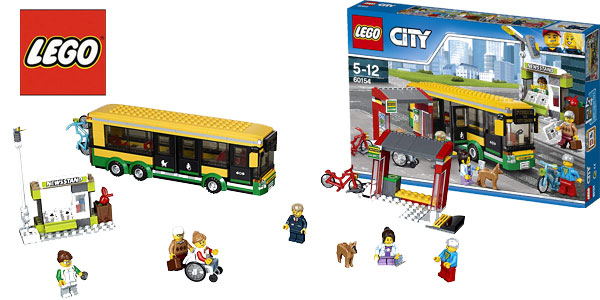 Estación de autobuses LEGO City Town barata en Amazon