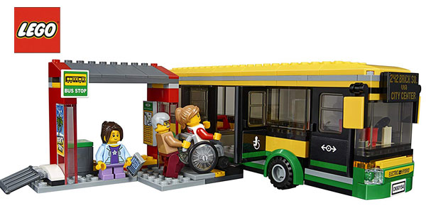 Estación de autobuses LEGO City Town chollo en Amazon