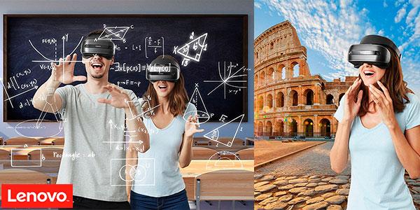 Gafas de realidad virtual Lenovo Explorer con controladores de movimiento en oferta