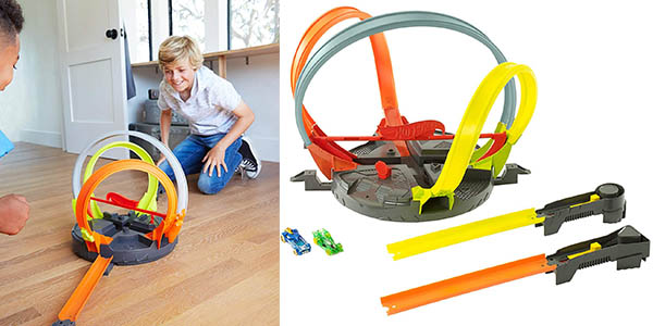 Hot Wheels Megalooping circuito de coches en oferta