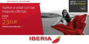 Iberia Black Friday 2020