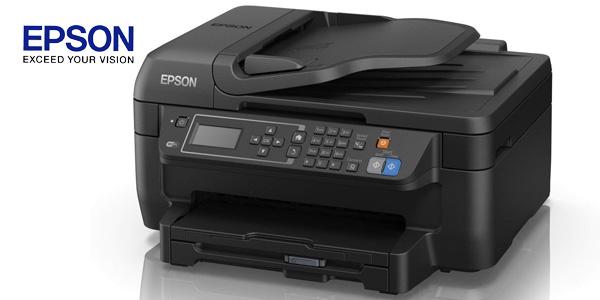 Impresora multifunción 4-en-1 Epson Workforce WF-2750DWF inyección de tinta con WiFi chollazo en Amazon