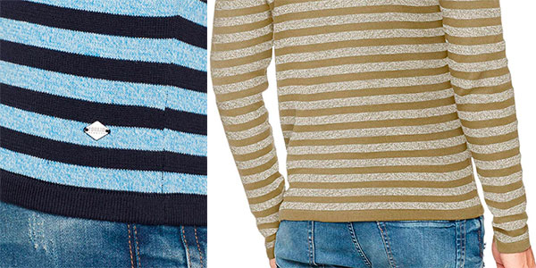 Jersey Solid Madison de algodón para hombre barato