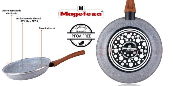 Juego 3 sartenes Magefesa antiadherentes de granito 18-20-24 libres PFOA todo tipo cocinas chollazo en eBay