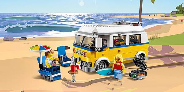 juego de construcción LEGO Furgoneta de playa oferta