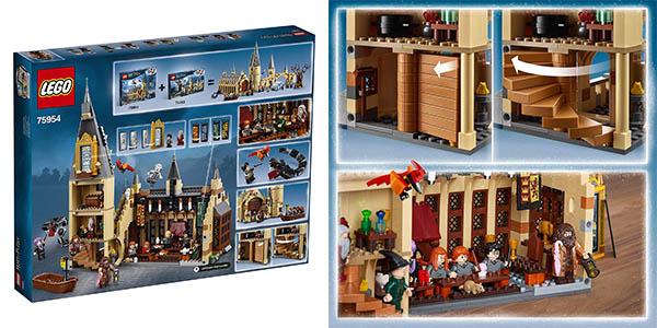 juego de construcción LEGO Harry Potter gran comedor Hogwarts oferta
