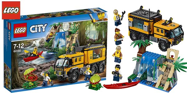 LEGO City - Jungla: Laboratorio Móvil barato en Amazon