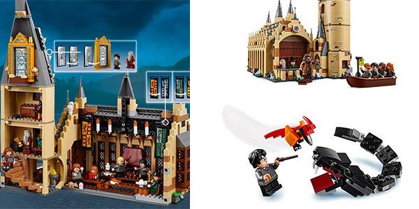 juego LEGO Harry Potter comedor Hogwarts para niñ@s de 9 años chollo