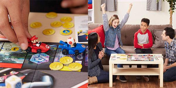 Juego de mesa Monopoly Mario Kart barato