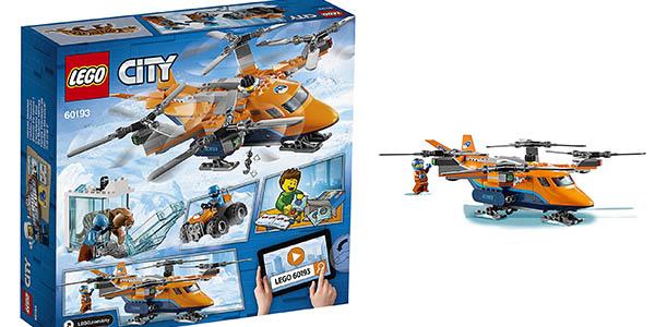 juguete Lego City Ártico para niños de 6 a 12 años chollo
