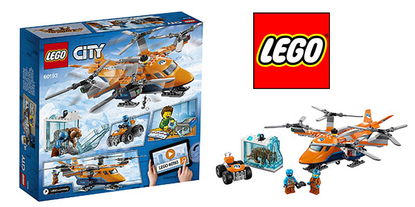 Lego City Artico helicóptero barato